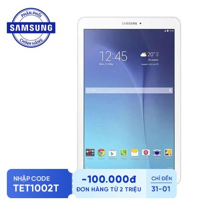 Máy tính bảng Samsung Galaxy Tab E 9.6 SM-T561 Wifi 3G 8GB Trắng