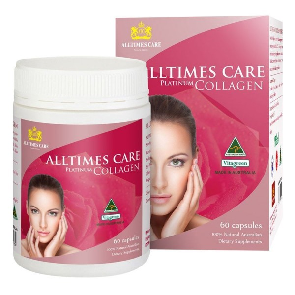 Viên uống Collagen Alltimes Care Platinum Collagen 60 viên