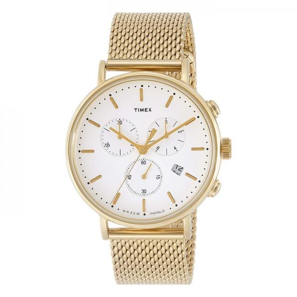 Đồng hồ nam Timex màu vàng TW2R27200