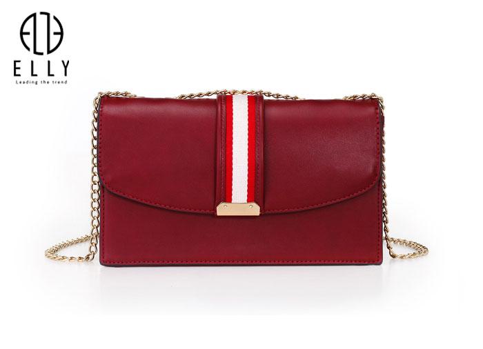 Túi xách nữ thời trang cao cấp ELLY – EL108 đỏ