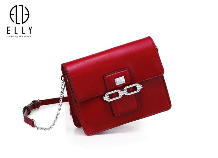 Túi xách nữ thời trang cao cấp ELLY- EL106 đỏ