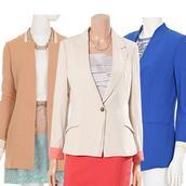 Bộ sưu tập áo vest công sở Stefanel đồng giá