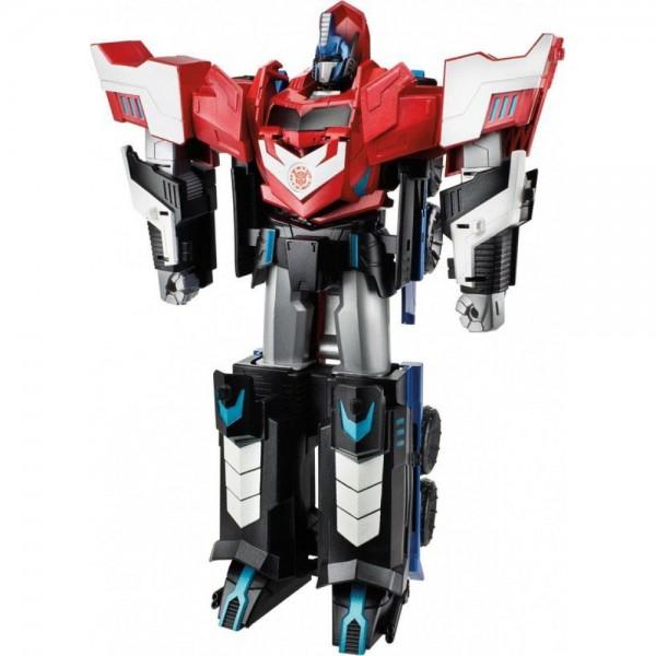 Đồ Chơi Robot Transformers Biến Hình Xe Container Mega Optimus Prime 3 Bước Box