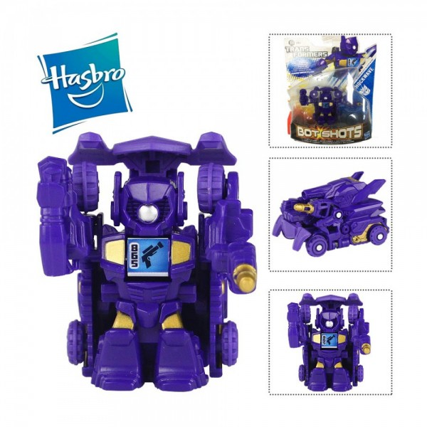Đồ Chơi Robot Transformer Mini Bot Shots - Shockwave Box