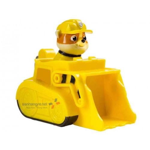 Đồ chơi xe chó Paw Patrol Racer - Rubble
