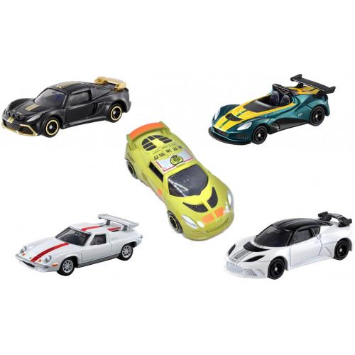 Bộ 5 xe ô tô mô hình Tomica Lotus No Box