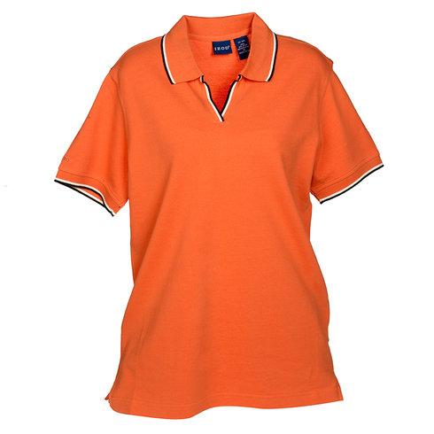 Áo phông nữ Izod Short Sleeve Silk Wash Polo