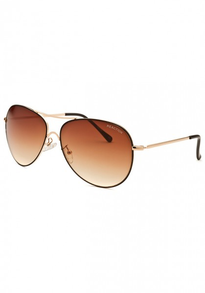 Kính mát nữ Kenneth Cole Reaction KCR1222-033F-60-14 Aviator Rose-Tone