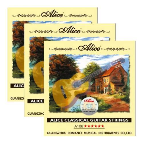 Combo 3 bộ dây đàn guitar classic Alice A106