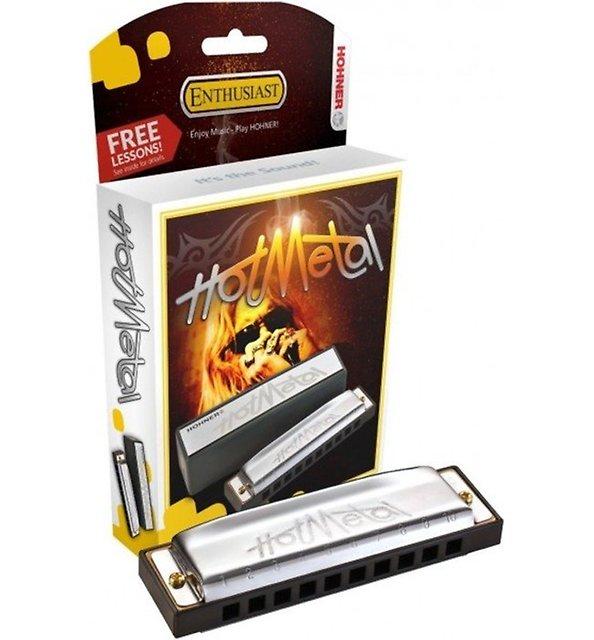 Kèn harmonica Hohner Hot Metal