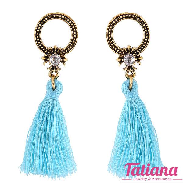 Bông Tai Tua Rua Charice - Tatiana - BH3040