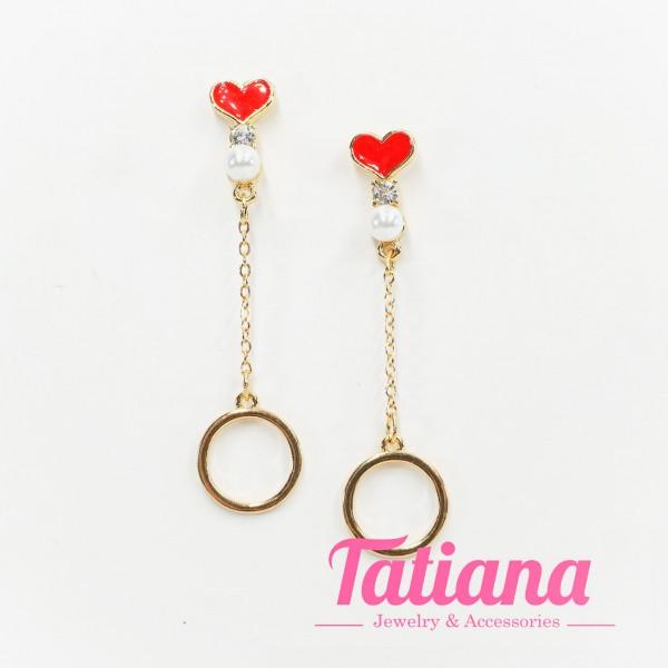 Bông Tai Hàn Quốc Love Parels - Tatiana - BH3219