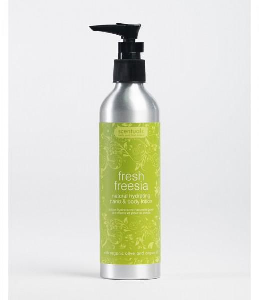 Sữa dưỡng ẩm dưỡng thể và da 250ml Lan Nam Phi -FRESH FREESIA/natural hydrating hand & body lotion 250ml