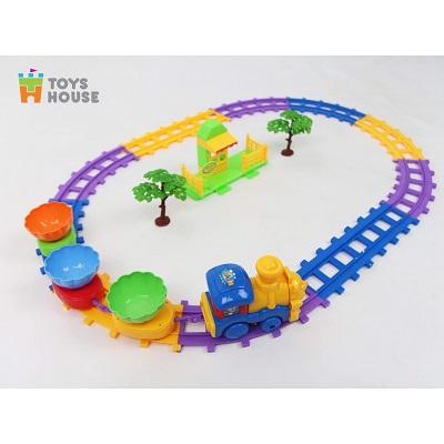 Xếp hình đoàn tàu hỏa Toyhouse - phát nhạc