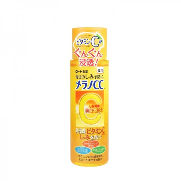 Toner sáng da trị thâm nám Melano CC Brightening Vitamin C 170ml