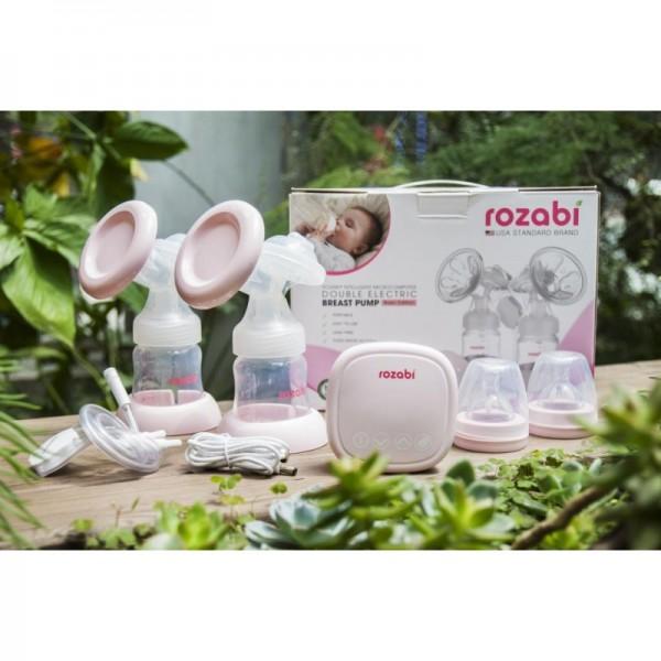 Máy Hút Sữa Điện Đôi 18 Cấp Độ Rozabi Compact 2018