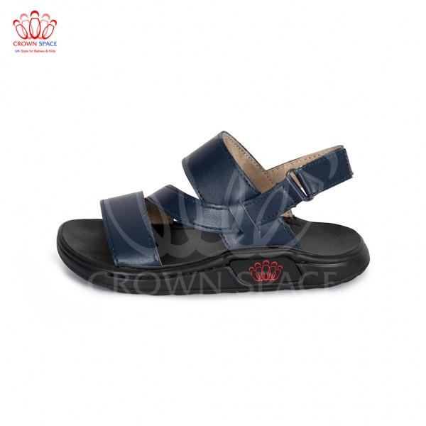 Sandals bé trai Crown UK London Fashion Sandals CRUK648 màu xanh navy
