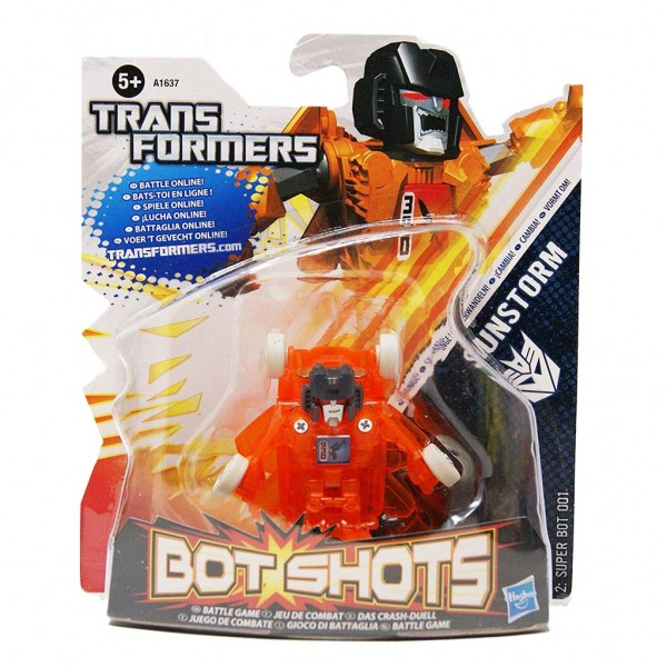 Đồ chơi Robot Transformer mini Bot Shots - Sunstorm Box