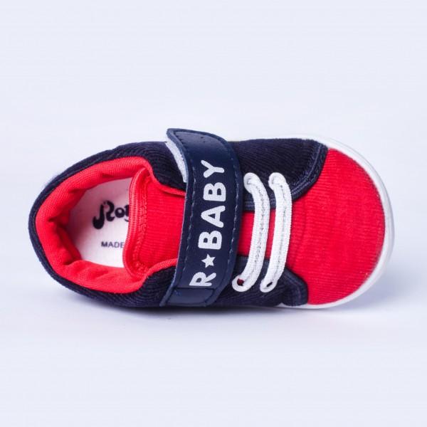Giày tập đi Baby Injection Shoes 032_798 màu Xanh navy