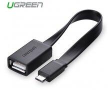 Cáp Micro USB OTG Ugreen 10821 Sử dụng cho Android