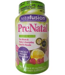 Kẹo bổ cho bà bầu Vitafusion Prenatal 90 viên
