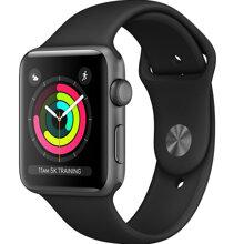 Apple Watch S3 GPS 38mm viền nhôm xám dây đen