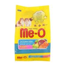 Thức ăn hạt cho mèo con  Me-O Kitten Ocean Fish vị cá biển