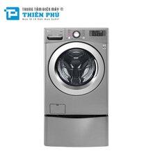 Máy Giặt Lồng Ngang LG Twinwash Inverter F2719SVBVB & T2735NWLV Giặt 19Kg +3.5Kg giá rẻ