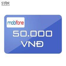 Thẻ điện thoại Mobifone mệnh giá 50.000