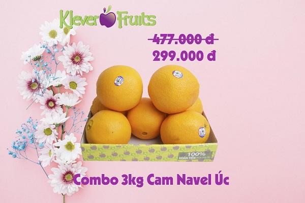 Cam vàng Navel Úc 3kg