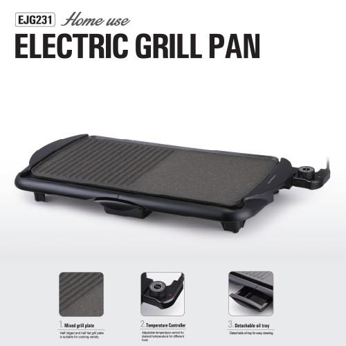 Vỉ Nướng Điện 2000W Lock&Lock Electric Grill Pan EJG231