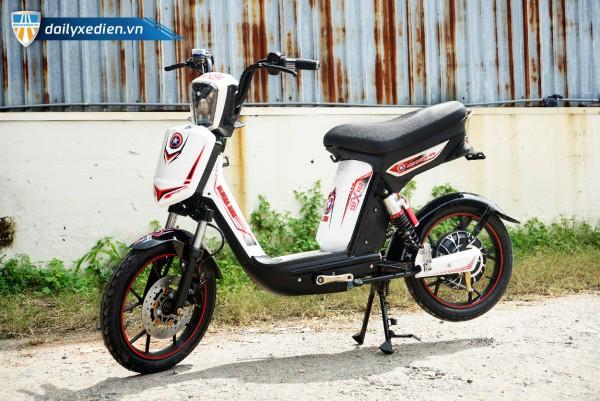 Xe đạp điện Cap X Pro trắng