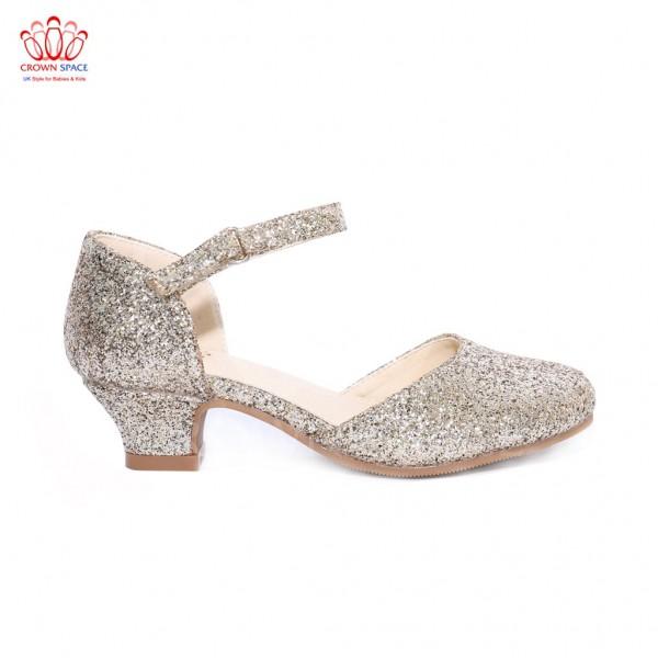 Giày búp bê bé gái Crown UK Princess Ballerina CRUK392.18