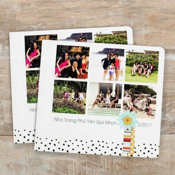 Photobook Tạp Chí Bìa Hình - Vuông - Size: 12x12