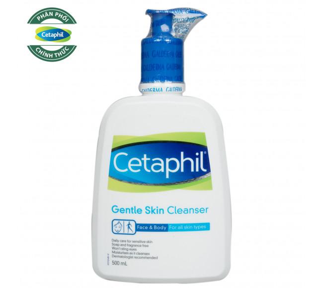 Sữa Rửa Mặt Cetaphil Dịu Nhẹ 500ml Gentle Skin Cleanser