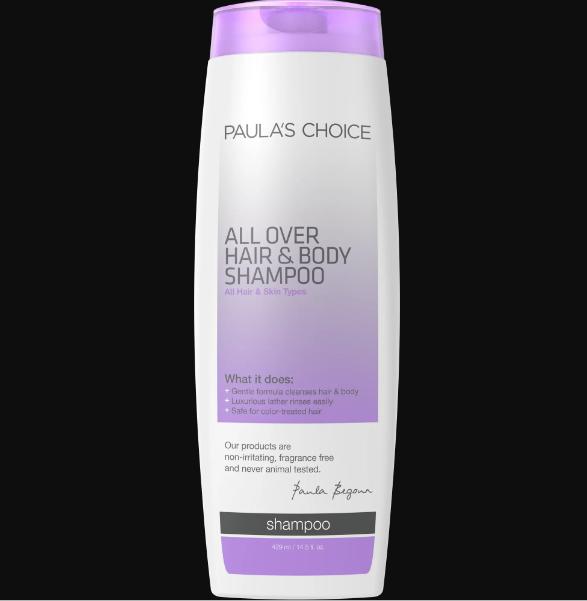 Dầu gội và tắm cao cấp 2 trong 1 – All Over Hair & Body Shampoo (429ml)