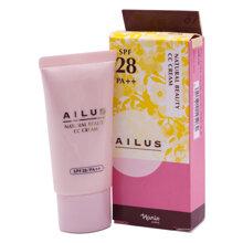 [Hàng chính hãng] Kem Nền CC Nhật Bản cao cấp Naris Ailus Natural Beauty SPF28/PA++ (30g)