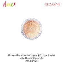 Phấn phủ bột siêu mịn Cezanne Soft Loose Powder màu 01 Lucent-beige_5g