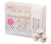 Bột dưỡng trắng da Fracora White Powder V90 Vitamin C