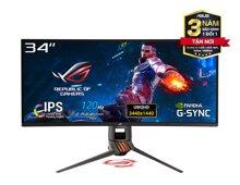 Màn hình Asus PG349Q (34 inch/2K UWQHD/IPS/120Hz/4ms/HDMI+DP+USB/G-Sync/Cong)