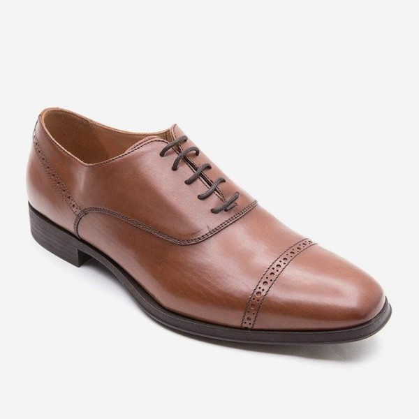 Giày tây Geox U Pericle A (Nâu)