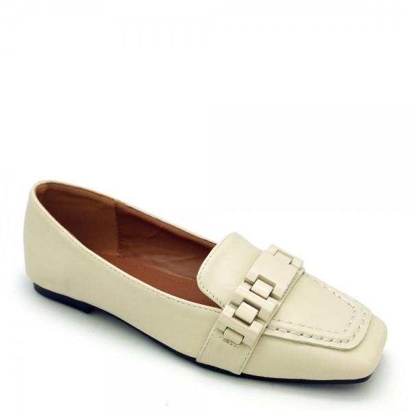 Giày bít mũi Carlo Rino 333050-062-21 màu kem