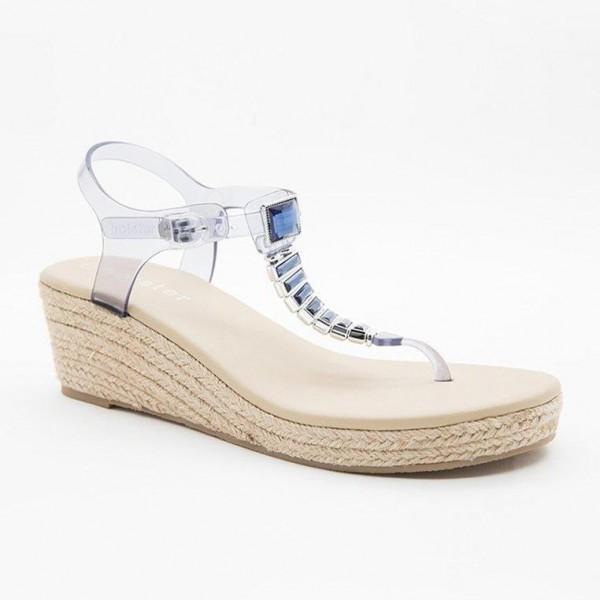 Giày sandal nữ Holster HEAVEN ESPADRILLE (Xanh dương nhạt)