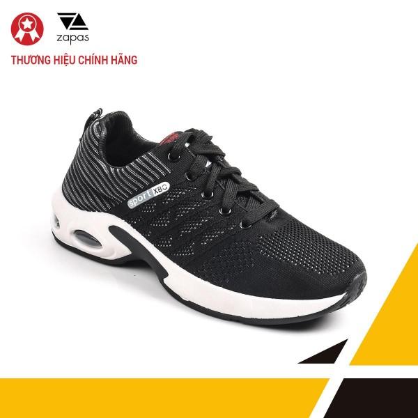 Giày Nam Đẹp Thể Thao Sneaker Thời Trang Zapas - GS102 (Đen)