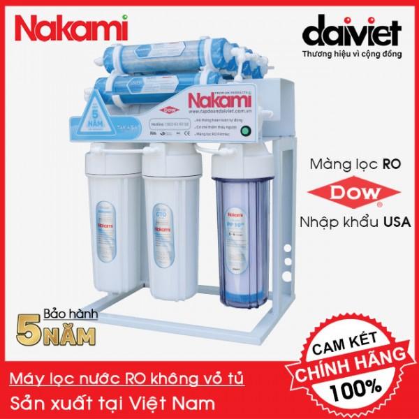 Máy lọc nước RO không vỏ tủ Nakami NKW-34008D chính hãng, bảo hành 5 năm