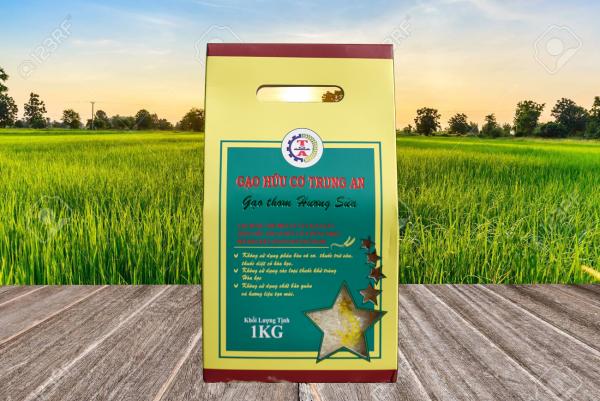 Gạo Hữu Cơ Hương Sữa - ĐS Cần Thơ (3kg/túi)