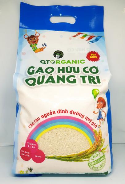 Gạo hữu cơ Quảng Trị For Kids (dành cho trẻ em)