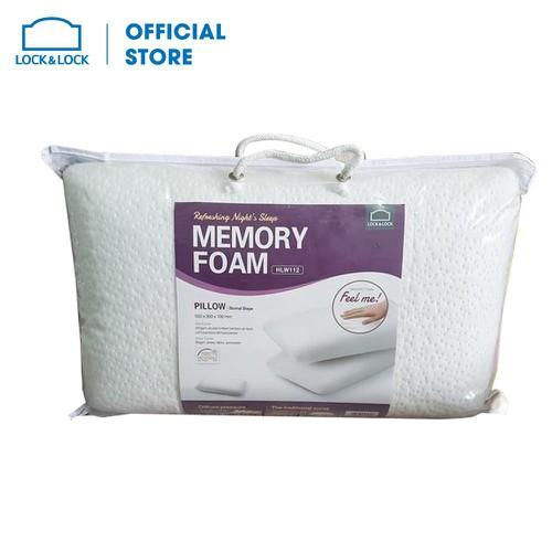 Gối Memory Foam 50D Hình Dáng Thường Lock&Lock HLW112 50 x 30 cm - HLW112