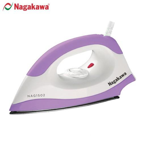 Bàn là khô Nagakawa NAG1502 (ghi )