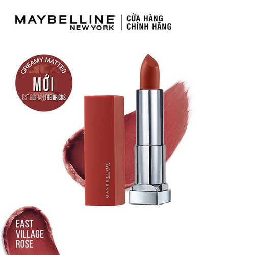 Son lì mịn môi Maybelline New York Colorsensation City Heat 3.9g - 6902395752264